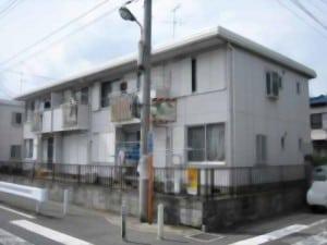 解決事例(神奈川県横浜市Dさん)賃貸アパート外観