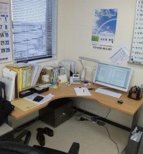 新しい埼玉相談センターの事務所をちょっと公開