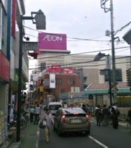 東武練馬の駅前 7月6日(全任協ブログ)