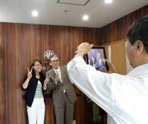 「埼玉の社長.tv」取材の写真