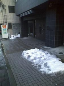 東京都知事選と大雪