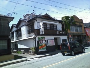 長野県小諸市で見かけたお店