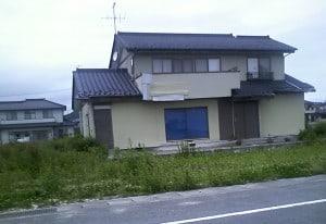 いわき市久ノ浜の家