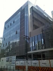 板橋区役所での物件調査と新庁舎