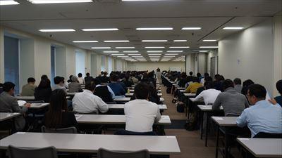 本日、第3回任意売却取扱主任者試験を行いました。