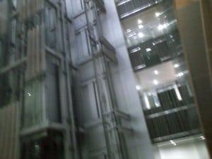 豊島区役所の新庁舎に行ってきました。