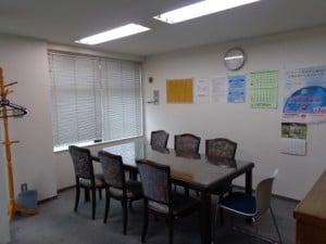 1階スペース相談室です。